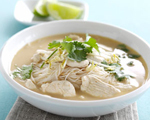 Thai-Style Creamy Chicken and Coconut Soup