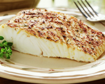 Thyme and Sesame Halibut