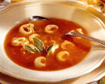 Tomato and Tortellini Soup