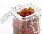 Tomato, Onion, and Serrano Chile Salsa