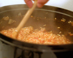 Tomato, Parmesan and Chorizo Risotto
