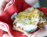 Tomato, Prosciutto and Gruyere Sandwiches