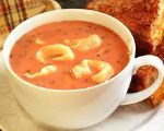 Cheese Tortellini Soup