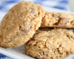 Triple Peanut Butter Oatmeal Cookies