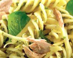 Tuna and Pasta in Creamy Lemon Sauce