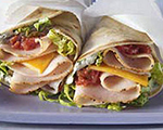 Turkey and Salsa Pita Wrap
