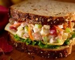 Turkey &#039;n Pear Salad Sandwiches