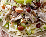 Turkey Salad with Chutney and Roasted Cashews