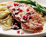 Turkey with Pomegranate and Fennel