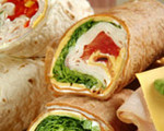 Diploma Turkey Wrap Roll-ups
