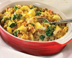 Turking and Stuffing Casserole