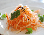 Turnip and Carrot Salad
