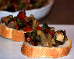 Grilled Vegetable Bruschetta