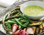 Vibrant Scallion Vinaigrette