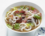 Vietnamese Pho Rice Noodle Soup