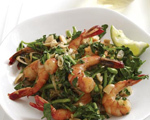 Vietnamese Shrimp and Watercress Stir-Fry