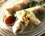 Vietnamese Summer Rolls with Shrimp