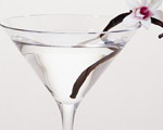 Vodka and Vanilla Martini