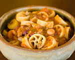 Wagon Wheel Pasta and Chili Dinner