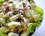 Waldorf Salad with Curry 