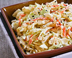 Warm Apple and Cabbage Coleslaw