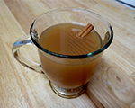 Warm Cranberry and Apple Cider
