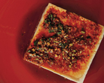 Warm Tofu with Spicy Garlic Sauce