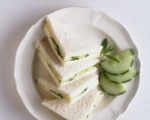 Watercress and Cucumber Party Sandwiches