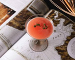 Watermelon and Thyme Martini