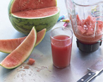 Watermelon Juice with Fleur de Sel