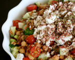Wheat Berry Greek Salad