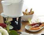 Whiskey and Cheese Fondue