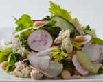 White Bean and Tuna Salad with Celery and Lemon