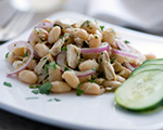 White Bean Salad with Tuna