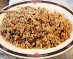 Wild Rice Dish
