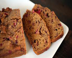 Zucchini Cranberry Bread