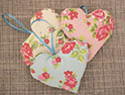 DIY Valentine's Day heart ornament