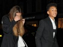 Selena Gomez has dinner with Jaden Smith in London