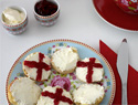 St. George's Day cream tea