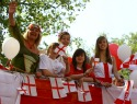 St. George's Day events around England