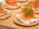 Blini recipe with 10 easy toppings