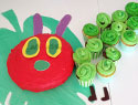 A Very Hungry Caterpillar 1st birthday party