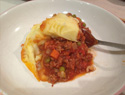 A warming shepherd's pie