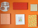 DIY fabric canvas artwork in 8 easy steps
