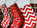 Etsy finds: Chic Christmas stockings