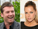 It's on: Sophie Monk and Sam Worthington