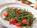 Tempting warm autumn salads