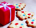 Christmas cookies with four ingredients or less