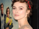 Keira Knightley is learning how to cook