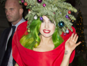 Lady Gaga pioneers Christmas tree fashions